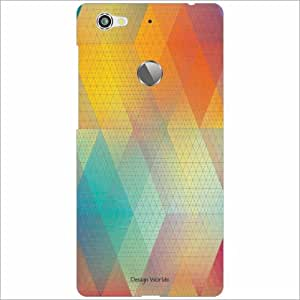 Design Worlds - Letv Le 1S Designer Back Cover Case - Multicolor Phone Cover