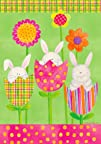 Bunnies in Tulips, Flowers Whimsical…