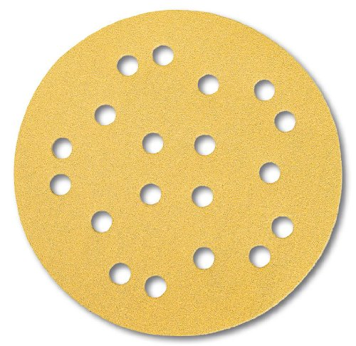 Mirka Gold 19 Times Perforated Discs GRIP P80 ø 125 mm (Pack of 50)