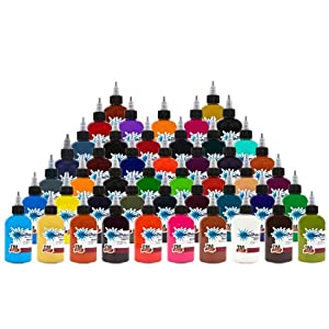 Starbrite 46 Essential Colors Sterile Tattoo Ink 1/2 oz