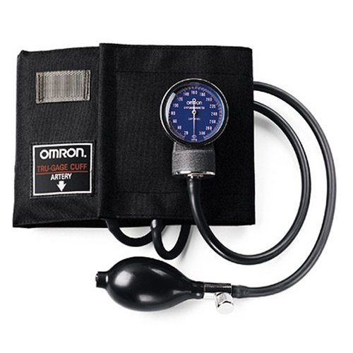 Cheap Omron Professional Sphygmomanometer with Large Adult Nylon Cuff, Black – Latex Free 0108MONL (108MONL)