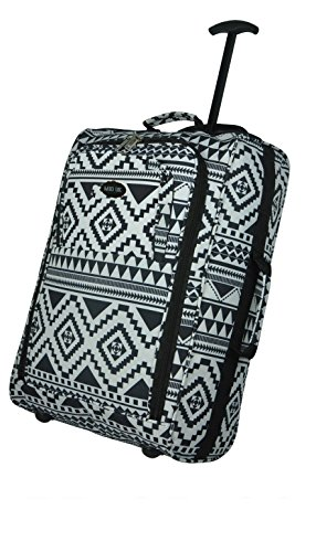 hand-luggage-50x40x20-wheeled-lightweight-cabin-easyjet-trolley-bag-case-aztec-black