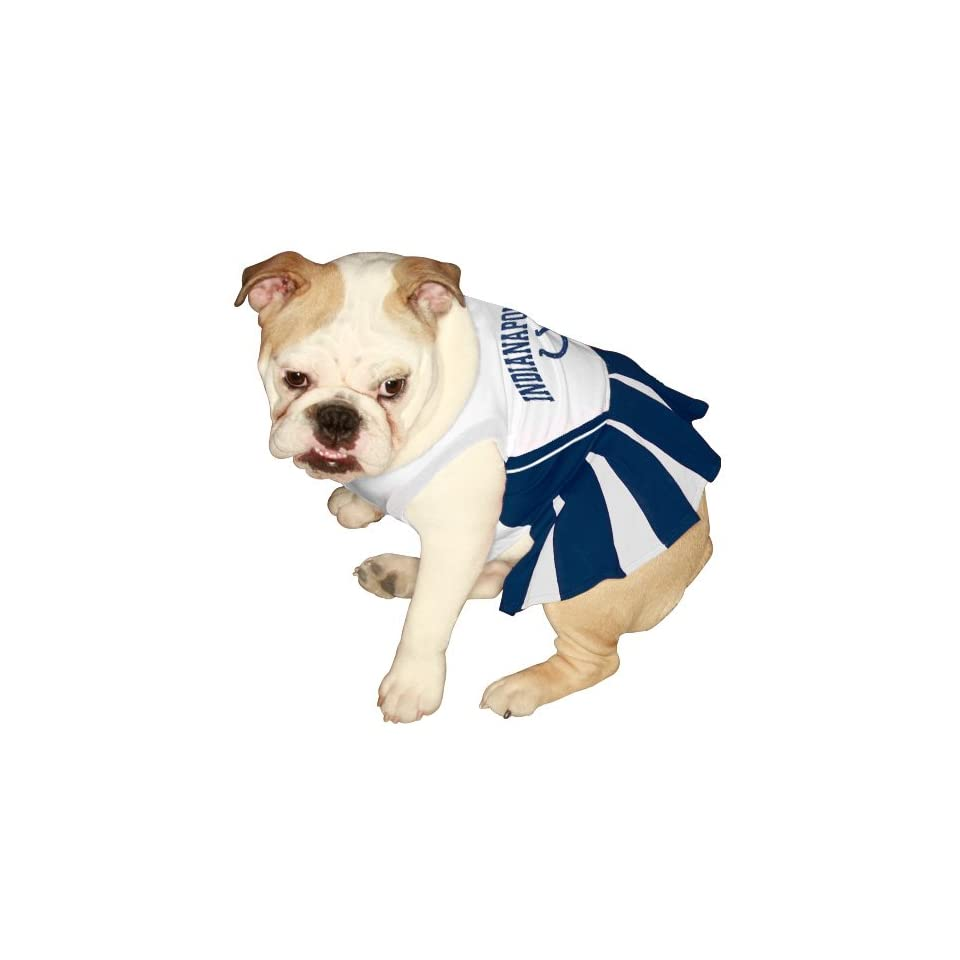 First Indianapolis Colts Pet Cheerleader Uniform