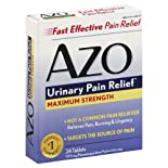 Azo Urinary Pain Relief, Maximum Strength, Tablets 24 Ct