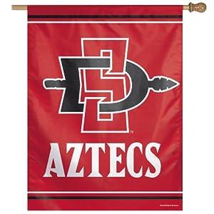Buy NCAA San Diego State Aztecs Vertical Flag, 27 x 37-Inch by WINAV