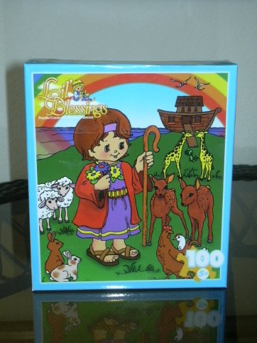 "Lil' Blessings 100 pc. Jigsaw Puzzle ""Noah's Arc"" - 1"