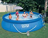 Intex 54907EG Easy Set Pool Set, 15-Feet by 42-Inch, Blue