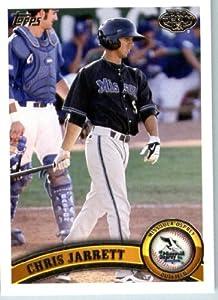 2011 Topps Pro Debut Baseball Card # 124 Chris Jarrett - Missoula Osprey - MiLB... by Topps