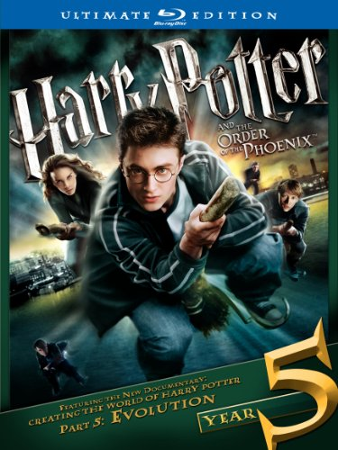 Cover art for  Harry Potter and the Order of the Phoenix (Two-Disc Ultimate Edition) [Blu-ray]
