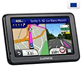 "GARMIN nüvi 2595LMT GPS for Europe + 6030253 Cigar Lighter Charger with mains connection 5"" screen Touch , Info Traffic TMC Premium (lifetime subscription), Bluetooth"