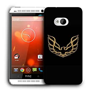Snoogg Roaring Eagle Designer Protective Back Case Cover For HTC ONE M7