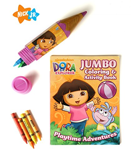 Nickelodeon Dora The Explorer Coloring Activity Book for ...