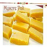 Rakhi Gifts Sweets- Soft Mysore Pak (200 Gms)-r2