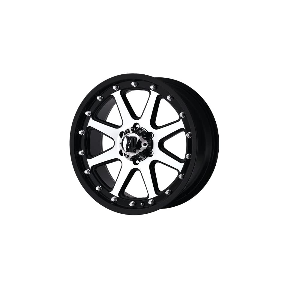 XD XD798 17x9 Machined Black Wheel / Rim 8x180 with a 18mm Offset and a 124.20 Hub Bore. Partnumber XD79879088518 Automotive
