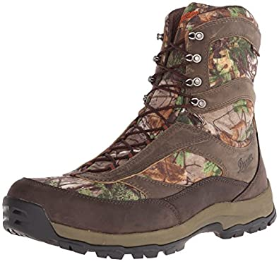 Danner Men's High Ground 8 Realtree Extra Hiking Boot,Brown/Green,6 D US