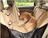 CKR ペット 愛犬 愛猫ドライブ 旅行 防水 シート ハンモック 後部座席用 防摩擦加工