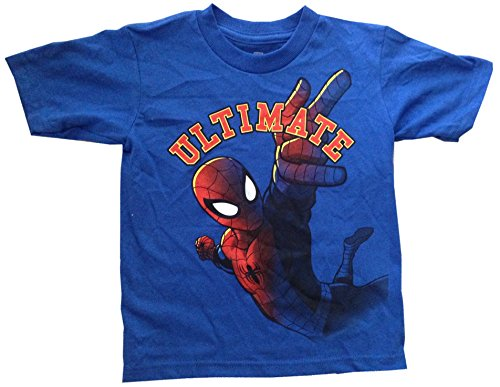 SPIDERMAN - Ultimate Spider-Man - Blue Toddler T-shirt