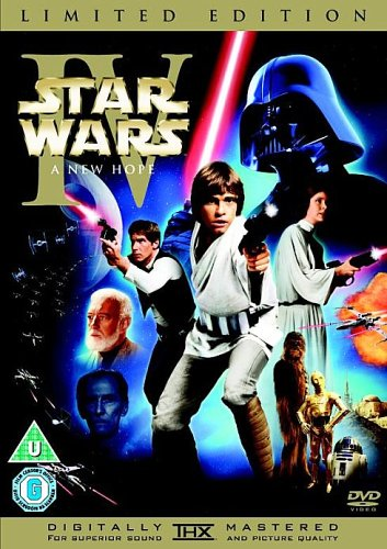 Star Wars Episode IV: A New Hope (Limited Edition, Includes Theatrical Version) [DVD]
