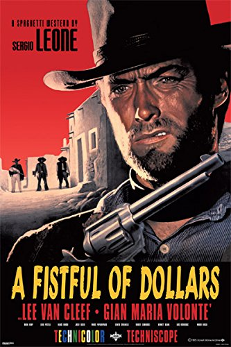 A Fistful Of Dollars - Clint Eastwood Movie Poster 24
