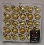 Pack of 25 GOLD Shiny and Matt Christ...