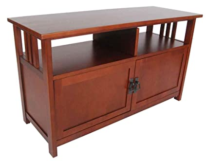 Mission TV Stand - Cherry