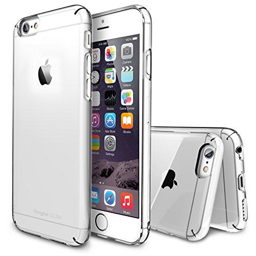 Ringke SLIM Coque [Tout Autour de la Protection][CRYSTAL Cristal][Gratuite Protection écran] Prime dur Coque Étui Housse de Protection Protecteur Étui Case pour Apple iPhone 6 4.7 Inch (Eco Paquete)