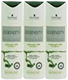3x Schwarzkopf Essensity Lightweight Milk Fine Normal Hair 200ml