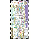 Streetwise Barcelona Metro Map - Laminated Metro Map of Barcelona Spain