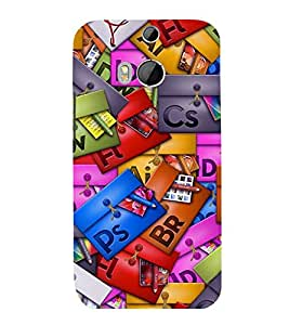printtech Cool Pattern Back Case Cover for HTC One M9::HTC M9::HTC One Hima