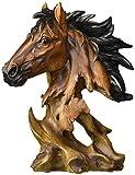 Collectible Horse Bust Sculpture Decoration Figure Figurine Model