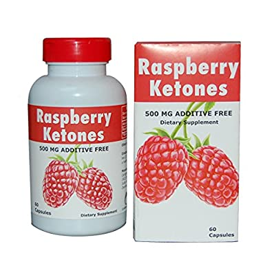 Raspberry Ketones Maximum Strength, Best 100% Pure Natural Weight Loss! #1 to Suppress Appetite & Stop Overeating, 500mg Serving! No Fillers, No Artificial Ingredients, Suitable for Vegetarians.