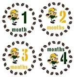 Monthly Stickers Monthly Baby Boy Sport Stickers Green Bay Packers Stickers Football Sports Monthly Stickers Waterproof Baby Shower Gift at Amazon.com