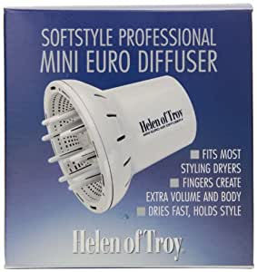 Helen of Troy 1528 Mini Euro Finger Diffuser, White
