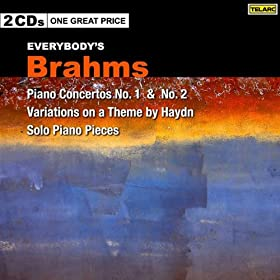 Everybody's Brahms: Piano Concertos 1 and 2, Haydn Variations, Solo Piano Pieces