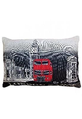 Kissenhülle Gobelin - London - von Raebel auf Gartenmöbel von Du und Dein Garten