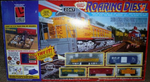Life Like Trains ROARING DIESEL train set OOP