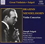 Brahms & Mendelssohn : Concertos Pour...