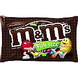 M&M'S Milk Chocolate Candies FUN SIZE Medium Bag, 11 Ounce (Pack of 6)