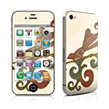 Bird Happiness Design Protective Skin Decal Sticker for Apple iPhone 4 16GB 32GB