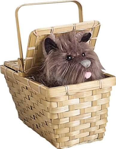 The Wizard of Oz Deluxe Toto In A Basket
