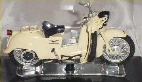 moto Guzzi Galletto Weiss Beige 1/24 Starline Modellmotorrad Modell Motorrad