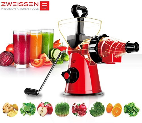 Vonshef Digital Slow Masticating Juicer Fruit Vegetable Cold Press Extractor : Slow juicers for vegetables and fruit - StoreIadore