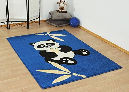 Tierisch fröhlicher Kinderteppich PANDABÄR 120x170cm