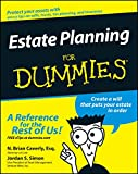img - for Estate Planning For Dummies book / textbook / text book