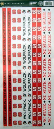 Sports Solution North Carolina State Wolfpack Border Sticker