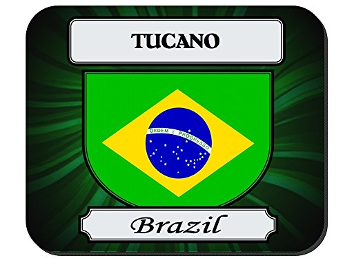 Tucano, Brazil City Mouse Pad