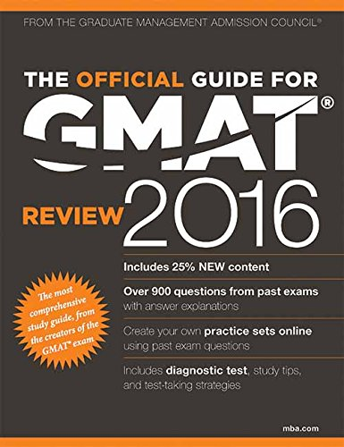 The Official Guide for GMAT Review 2016 with Online Question Bank and Exclusive Video Image