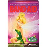 Band-Aid Decorative Adhesive Bandages, Disney Fairies, Assorted, 20 Count