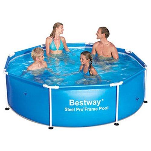 Bestway 56045 Frame Pool Stahlrahmenbecken 244 x 61 cm