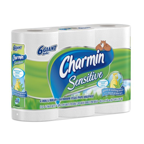 Charmin Toilet Paper On Sale: ##New Arrival Charmin Sensitive Toilet Paper Rolls 6 Giant
